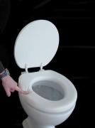 WC Sitz Lugano gepolstert in verschiedenen Farben