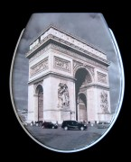 WC Sitz Duroplast Paris, Absenkautomatik, abnehmbar