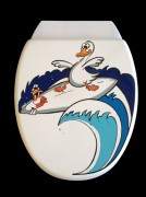 WC Sitz Surfer